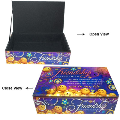 Friendship Glass Box