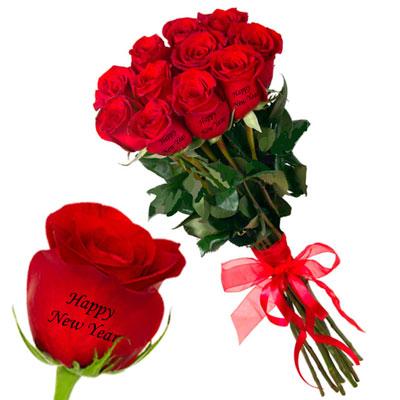 talking roses print on rose 11 red roses happy new year send new year talking roses to india hyderabad us2guntur