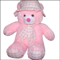 Soft Teddy with Hat BST 20001 (Pink) - Click here to View more details about this Product
