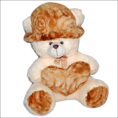 Cream Teddy Bear  BGB-101 C - Click here to View more details about this Product
