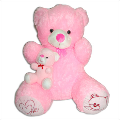 Pink Teddy Bear - BGB-103 B - Click here to View more details about this Product