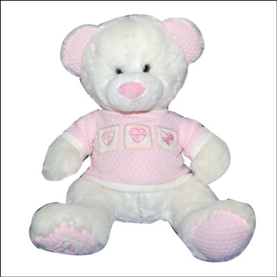 Teddy with Pink sweater PNP-3385 - Click here to View more details about this Product