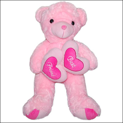 Pink Teddy Bear - BGB -123A - Click here to View more details about this Product