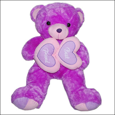 Purple Teddy Bear - BGB -123B - Click here to View more details about this Product