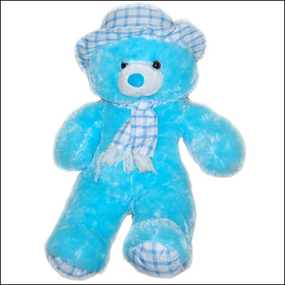 Blue Color Teddy - BST 20001 - Click here to View more details about this Product