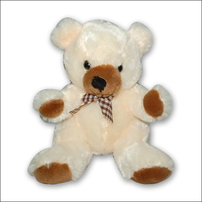 Cream  Teddy - MSK - 9665 - Click here to View more details about this Product