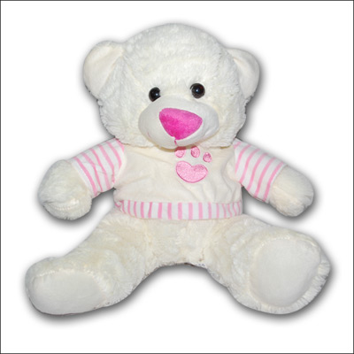 WHITE Teddy PNP - 3696 - Click here to View more details about this Product