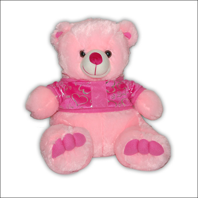 Pink Teddy with Sweater  - KT037 -4 - Click here to View more details about this Product