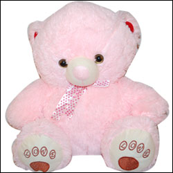 Light Pink Teddy Bear - BST  9059 - Click here to View more details about this Product