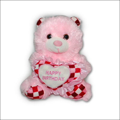 Musical Pink Teddy -264-12 - Click here to View more details about this Product