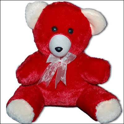 Red Color Teddy - BGB 801-12 - Click here to View more details about this Product