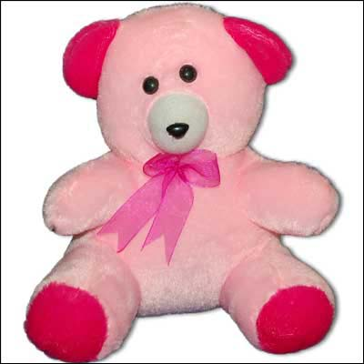 Baby Pink Color Teddy - BGB 801-12 - Click here to View more details about this Product