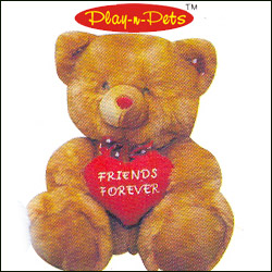 Teddy Bear  - Friends Forever-40cm - PNP 3378 - Click here to View more details about this Product