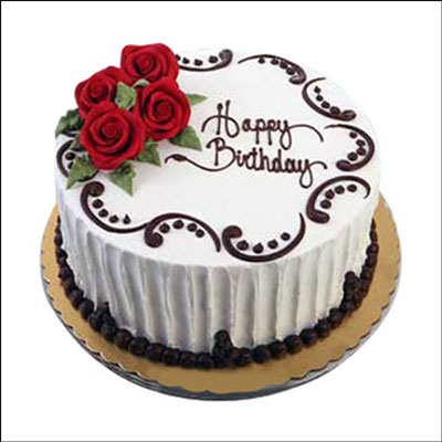 Happy Birthday Cake Charm