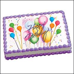 Birthday Special Rectangular Cake 1 5 Kg Send General