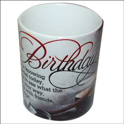 Mug with Message (Birthday) code01 - Click here to View more details about this Product