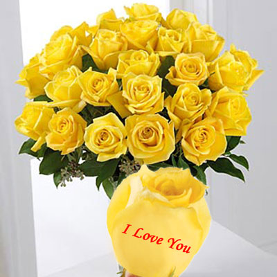 92+ I Love You Yellow Flowers - Cutie I Love You, Bunch Of ...