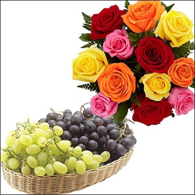 Fruits N Flowers Combo - M01 - Click here to View more details about this Product