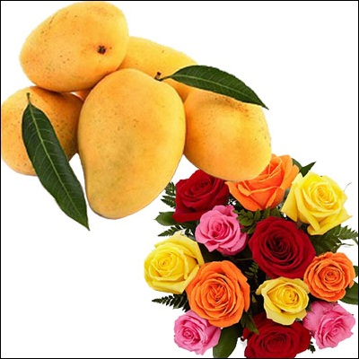 Fruits N Flowers Combo - M03 - Click here to View more details about this Product