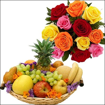 Fruits N Flowers Combo - M04 - Click here to View more details about this Product