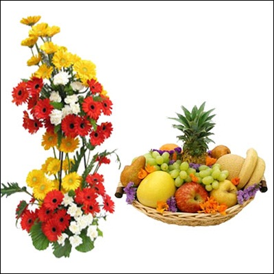 Fruits N Flowers Combo - M06 - Click here to View more details about this Product