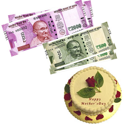 Cash - Rs. 5,001 with cake - Click here to View more details about this Product