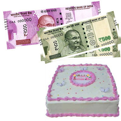 Cash - Rs. 3,001 with  2kgs cake - Click here to View more details about this Product