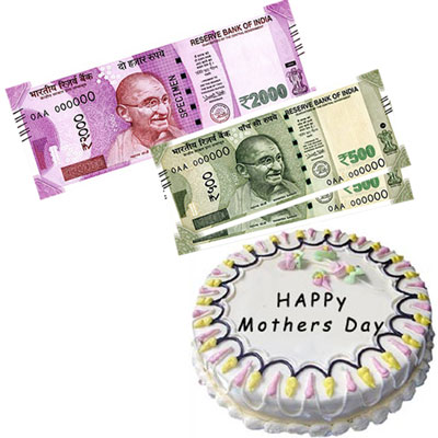 Cash - Rs. 3,001 with  cake - Click here to View more details about this Product
