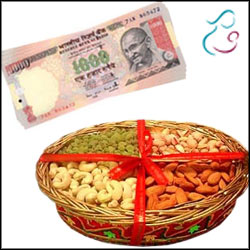 Cash - Rs. 2001 + 500gms Assorted dryfruits - Click here to View more details about this Product