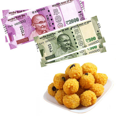 Cash - Rs. 5,001 with Sweets - Click here to View more details about this Product