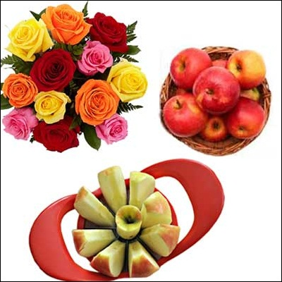 Fruits N Flowers Combo - M07 - Click here to View more details about this Product