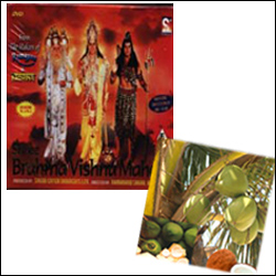 Shree Brahma Vishnu Mahesh set - Click here to View more details about this Product