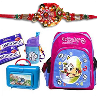 Rakhi School Kit Hamper - Click here to View more details about this Product