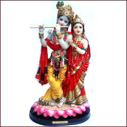 Radhakrishna Idol - Big - Click here to View more details about this Product