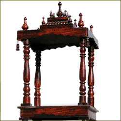 Rose Wood Mandir - Big size - Click here to View more details about this Product