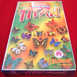Titan Gift Box Standard Fire Works 46 Items Send