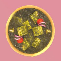 Palak Paneer (Veg Curry) -1 Plate - Click here to View more details about this Product