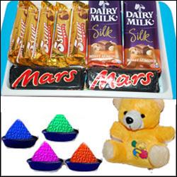 Sweet Holi Chocos - Click here to View more details about this Product