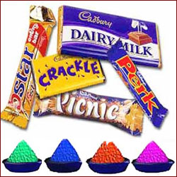 Cadbury Assorted chocolate bars Hamper - Click here to View more details about this Product