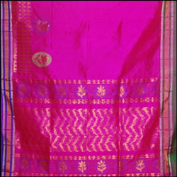 Exclusive Kollam pattu Pink color saree (With Blouse ) SLU-28 - Click here to View more details about this Product