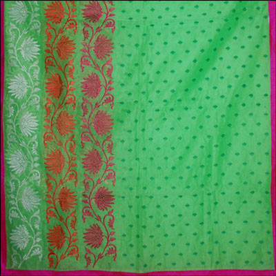 Cotton N Supernet Sarees