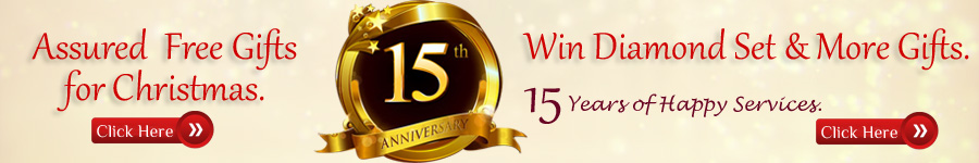 15th Anniversary Draw & Assured Free Gifts