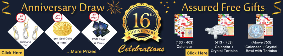 16th Anniversary Draw & Assured Free Gifts