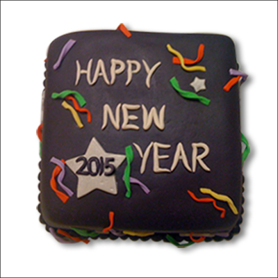 New Year Choco Cake - 1kg - Click here to View more details about this Product