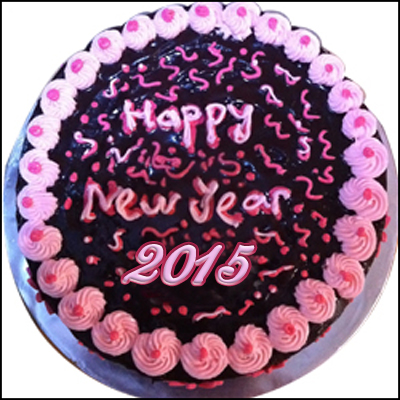 New Year Yummy Cake - 1kg - Click here to View more details about this Product