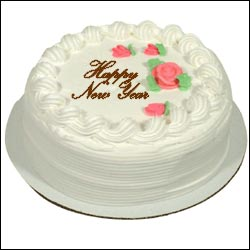 Click Here For Zoom View - New Year Special Cake - 1