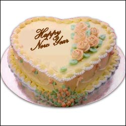 Click Here For Zoom View - New Year Special Cake - 5