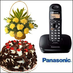 Cellphone Surprise - Panasonic KX-TG 3611BX Cordless phone - Click here to View more details about this Product