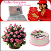 Midnight Video Surprise Hamper-2 - Click here to View more details about this Product