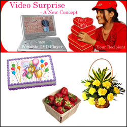 Midnight Video Surprise Hamper-3 - Click here to View more details about this Product